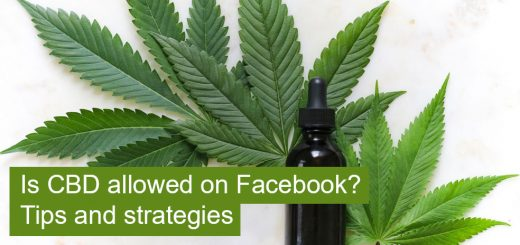 Advertising CBD on Facebook tips and strategies
